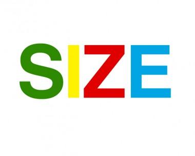 SIZE-title-treatment